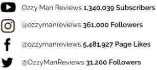 Social media followers Ethan Ozzy Man